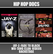 3 DVD Hip Hop Lot Fade Black Wu Tang Backstage Method Jay Z Kanye West Pharrell