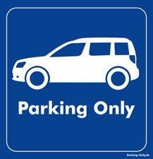 Parking Only - Skoda Yeti - Aufkleber