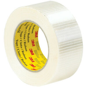 3M Scotch Bi-Directional Filament Strapping Tape #8959 50mm x 50m NEW HEAVY DUTY