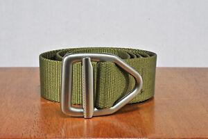 Bison Designs Belt ~ Olive ~ Large ~ Firefighter ~ Law Enforcement ~ EMT EMS