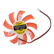 Hot Sale Computer Red Plastic VGA Video Card DC 12V Brushless Cooling Fan N3