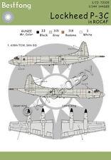 Bestfong Decal 1/144 Lockheed P-3 Orion 439th TCW R.O.C. (Taiwan) AF
