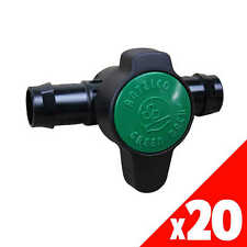 GREEN BACK VALVE 25mm Low Dens. Fittings Garden Water Irrigation 45545 EACH