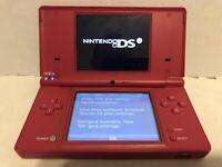 Nintendo DSi Pink Handheld Console TWL-001 Tested Working