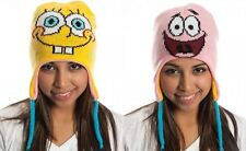 Spongebob Squarepants and Patrick Reversible Laplander Beanie Hat Nickelodeon