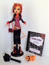 Monster High 2011 Original Signature Wave 3 Campus Stroll Toralei Stripe Doll L2