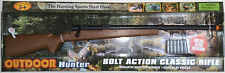 TOY GUN - CLASSIC  BOLT ACTION RIFLE - BATTERY OP REALISTIC SOUNDS - TOY RIFLE