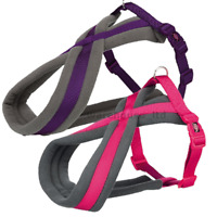 Trixie Dog Premium Touring Harness Soft Thick Fleece Lined Padding Strong