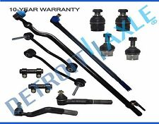 New 12pc Complete Front Drag Link Ball Joints Sway Bar End Link Tie Rod - 4WD