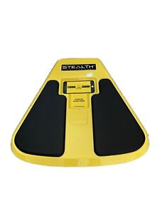 Yellow Stealth Core Fitness Trainer - Great Pandemic Workout! - Train By Phone!