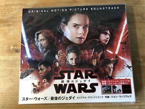 STAR WARS: THE LAST JEDI (Williams) OOP 2017 Japanese Score Soundtrack CD NM+OBI