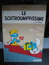 """BD Schtroumpfs - """"Le Schtroumpfissime"""""""