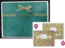Reindeer Magic embossing folder Spellbinders ES-015 Christmas embossing folders