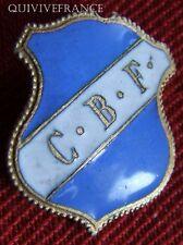 BG4823 - INSIGNE badge CBF CLUB BOULISTE