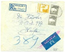 PALESTINE  BRITISH MIL. OCCUP. 1946 REG  JERUSALEM 18   IMPERFECTIONS  FINE
