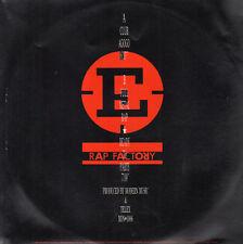 Rap Factory Club Agogo/Completo Metal rap/Listo Para Partido 1987 Moderno Música