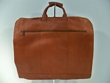 """Colombian Top-Grain Leather 36"""" Garment Sleeve Bag, Factory 2nd"""