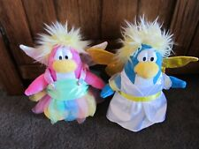 CLUB PENGUIN....2 soft toy penguins..fairies! 2 different ..Disney's CP toys