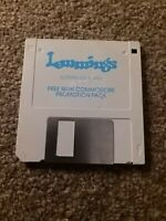 Lemmings - Commodore Amiga game (1991) disk only tested see pics