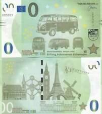 Biljet billet zero 0 Euro Memo - Stiftung Automuseum Volkswagen (041)
