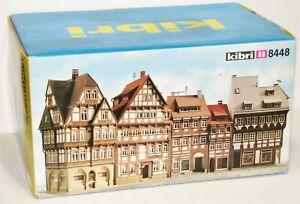 Kibri H0 8448 Stadthäuserzeile / Fachwerkhäuser-Set in OVP JU315