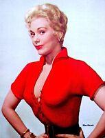 Pinup Lithograph Kim Novak 1955 VTG Sterling Smith Original Litho Promo Photo