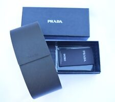 NEW Prada Sunglass Case With Original Box, Cleaning Cloth, and Authenticity Card