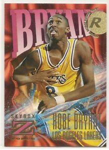 KOBE BRYANT 1996/97 SKYBOX ZFORCE ROOKIE CARD #142 VERY RARE MASSIVE BV$$ WOW
