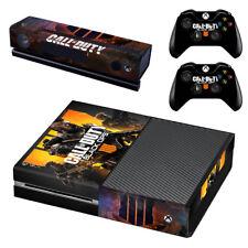 Vinilo pegatina XBOX ONE de la piel para consolas y 2 controladores Call of Duty Black Ops 4