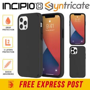 """iPhone 12 Pro Max (6.7"""") INCIPIO DualPro Dual Layer Case - Black"""