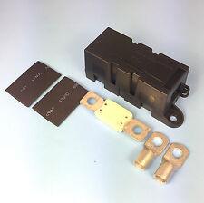 Quality Heavy Duty Mega Fuse Holder With 175 AMP Mega Fuse Terminals Heat Shrink