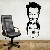 LAUREL AND HARDY COMEDY  Vinyl wall art sticker decal
