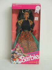 1991 SPANISH Barbie #4963 Dolls Of The Word Collection SPAIN Catalunya Fiesta