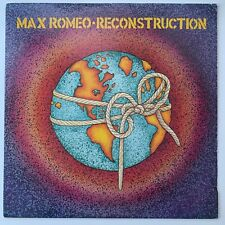 MAX ROMEO Reconstruction LP UK Original Reggae Roots