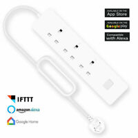Smart Power Strip WIFI UK Plug Google Home Amazon Alexa Remote Control USB Port