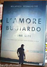 L' AMORE BUGIARDO Gone girl DVD