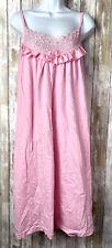 Women's Pink Sleeveless Nightgown No Size
