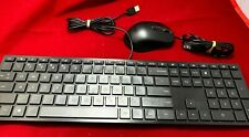 Acer USB Wired Keyboard & Mouse Model KBCR21 DKUSB1P0HP DC11211021 for PC