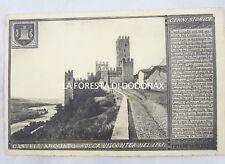 CASTELL'ARQUATO PIACENZA 1920C CARTOLINA FOTO SUPERCHI