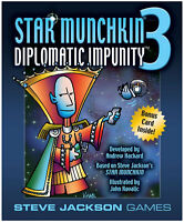 Star Munchkin 3 Diplomatic Impunity Card Game Expansion Steve Jackson Games 1506