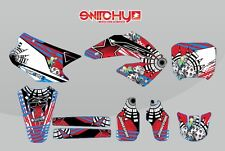 KIT ADESIVI GRAFICHE DECALS GRAPHICS PSYCO HONDA CR 125 250 2000 2001 STICKERS
