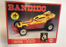 Vintage 1986 Cox Bandido R/C Car Kit # 9084/Made In Japan/New