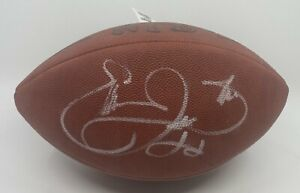 Emmitt Smith Signed Full Size Duke Football Autographed AUTO Dallas Cowboys HOF