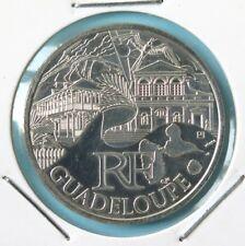 238 - 10 € FRANCE - 2011 : Région Guadeloupe - argent