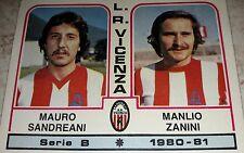 FIGURINA CALCIATORI PANINI 1980/81 VICENZA N° 395 ALBUM 1981