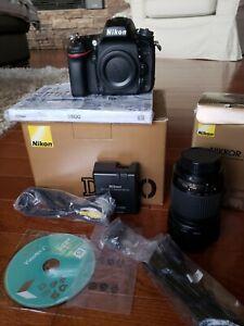 Nikon D D600 24.3MP Digital SLR Camera - Black with 55 200 dx ED lens