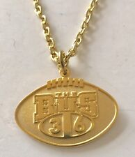 Pittsburgh Steelers Jerome BUS Bettis 36 Football Pendant Necklace NFL Licensed