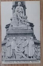 POSTCARD: LONDON, ALBERT MEMORIAL, AGRICULTURE: c1914-18