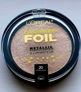 L'OREAL Crushed Foil Metallic Highlighter - 20 Gilded Glow 5.1g