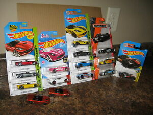 Hot Wheels Matchbox Lot of 15 2014 2015 Corvette Stingray Barbie Variation '14